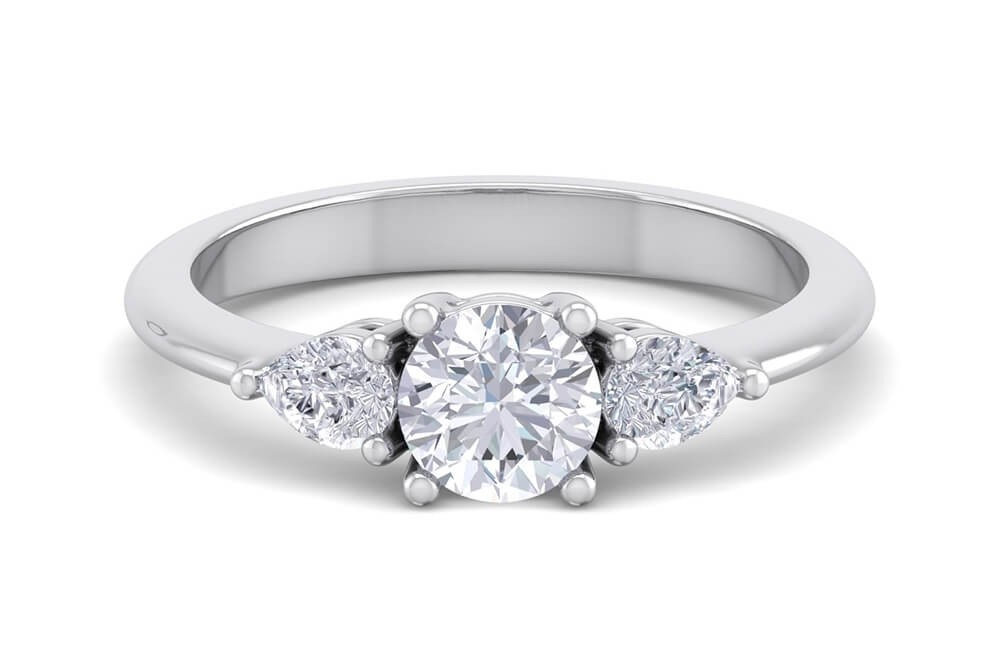 The Art Deco 0.80ct Engagement Ring