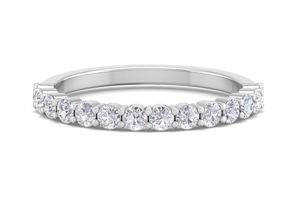The Penny Lane 0.22ct Half Eternity Ring