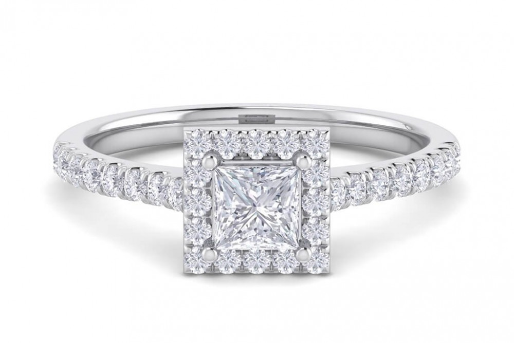 The Victoria 0.84ct Engagement Ring