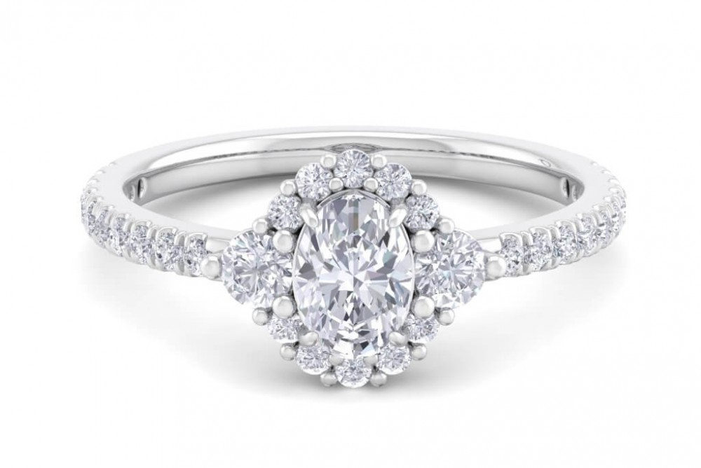 The Catherine 1.00ct Engagement Ring