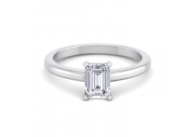Classic Platinum Setting (Emerald)