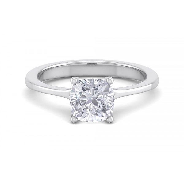 Kensington's One Carat Cushion Engagement Ring
