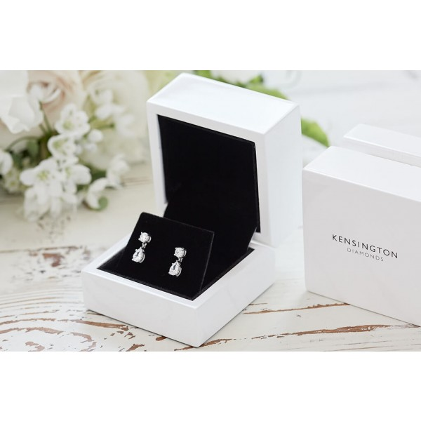 Kensington 1.20ct Teardrop Earrings