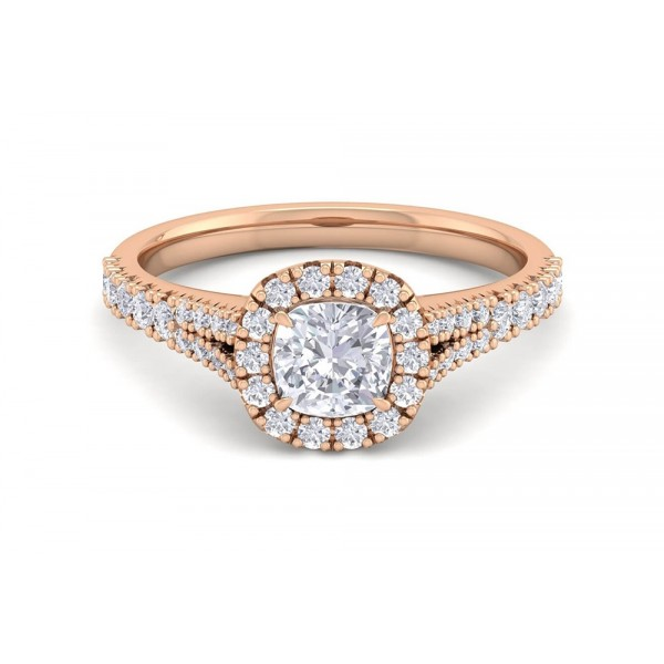 The English Rose 1.04ct Engagement Ring