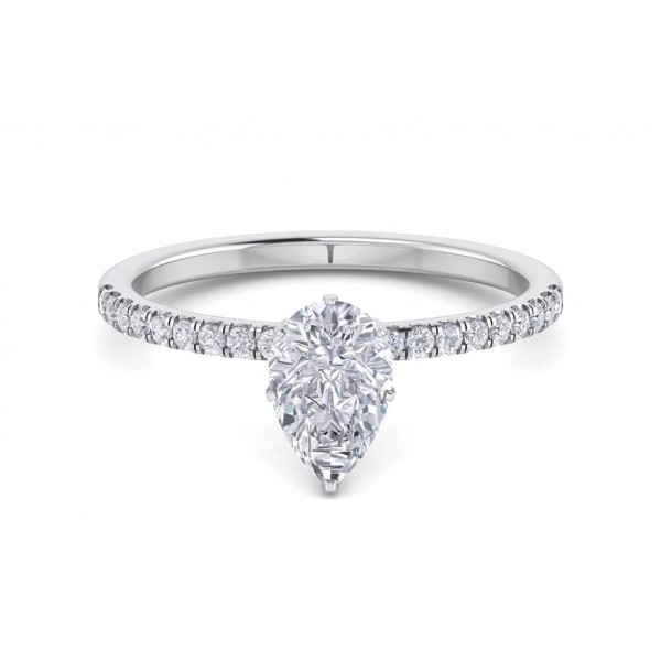 The Buckingham 1.18ct Pear Engagement Ring